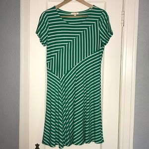 Stitch Fix Skies Are Blue striped M dress